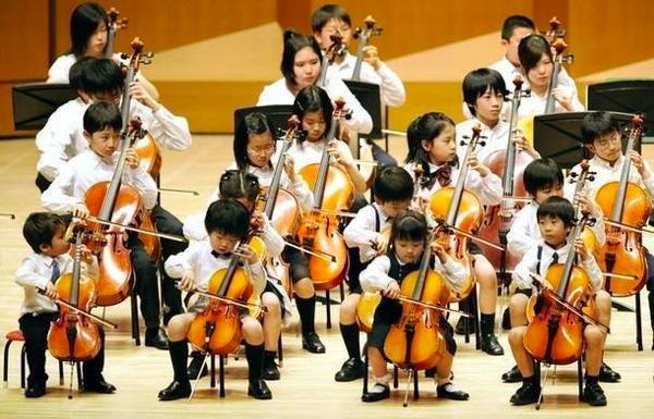 Cello orchestra